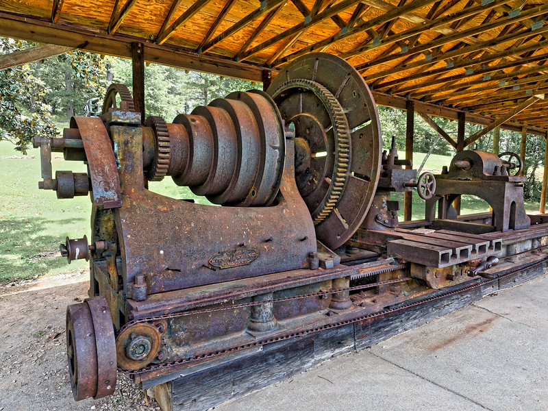 Rome's 1847 Machine Shop Lathe