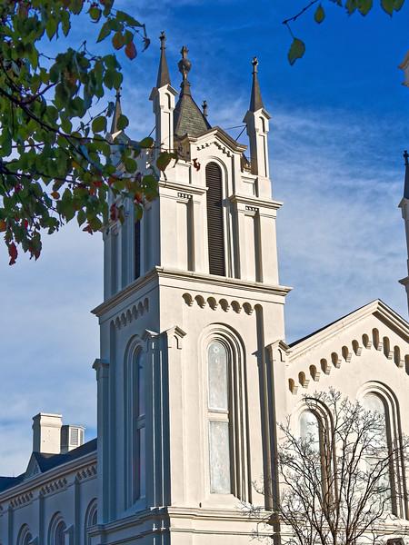 Columbus Georgia 1889 First  Presbyterian Church