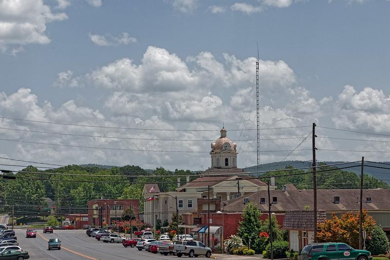 Downtown Summerville Georgia