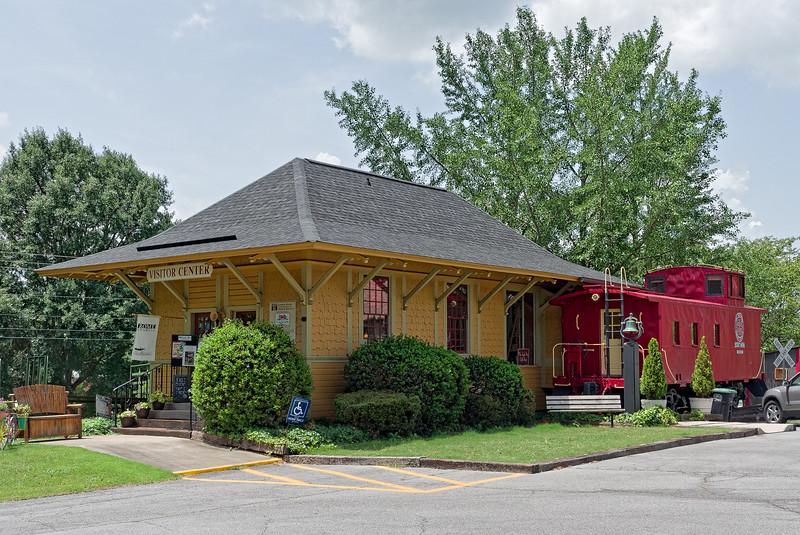 1901 Reeves Railroad Depot