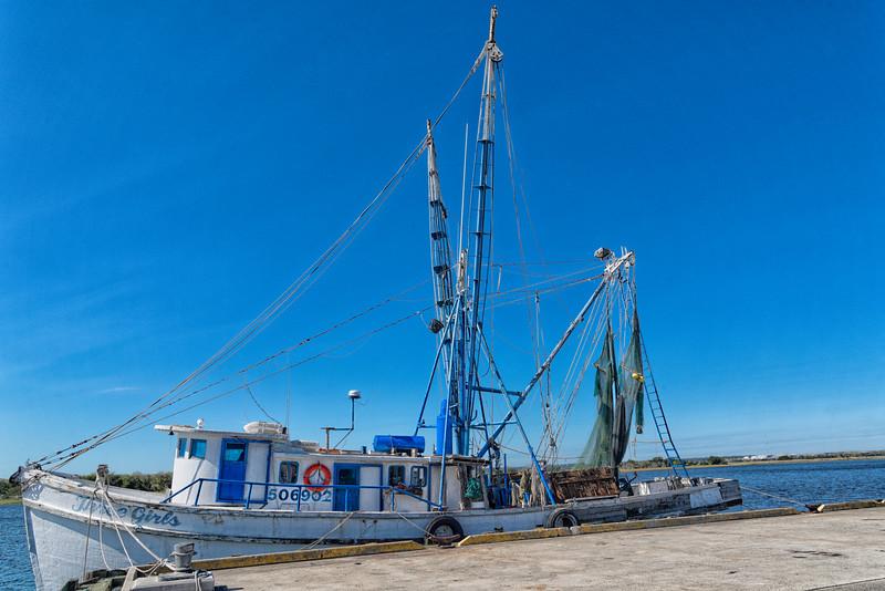 Shrimp boat, Three Girls
