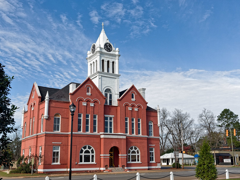 Schley County Georgia Courthouse