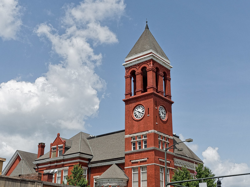 Old Floyd County Courthouse Clock Tower