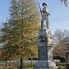 Confederate Memorial Statue in Rees Park