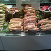 Euro style baguette sandwiches and panini-ready sandwiches at stuttgard airport