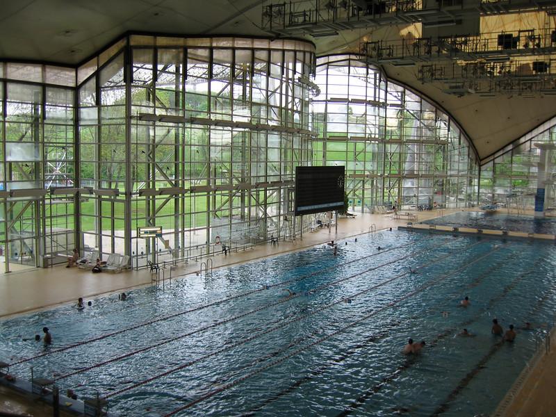 Munich 1972 Olympics - swimming pool