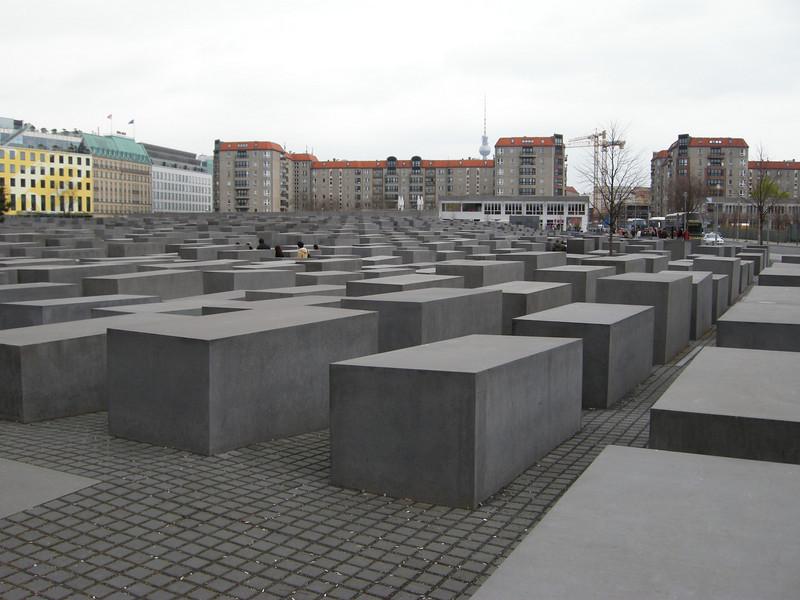 holocaust memorial - next few
