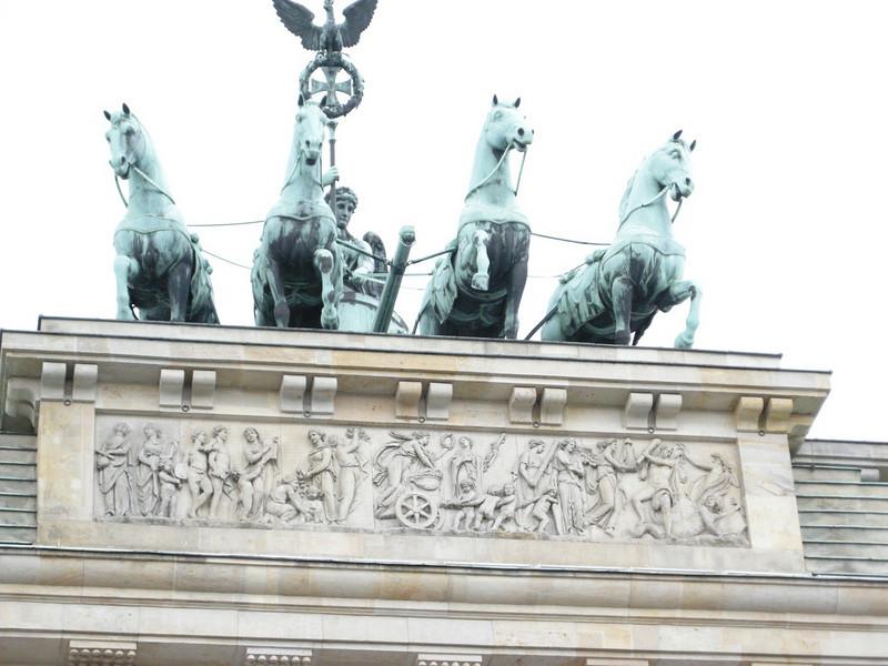 top of Brandenburg gate