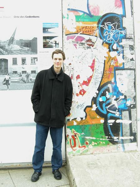 Dan - Berlin Wall remains