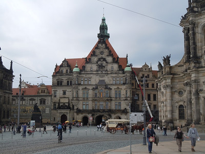 We started our journey in Dresden.  An historic city on the banks of the Elbe River.