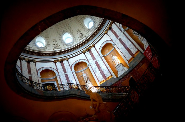 Staircase at the Bode-Museum in Berlin's Museum Island