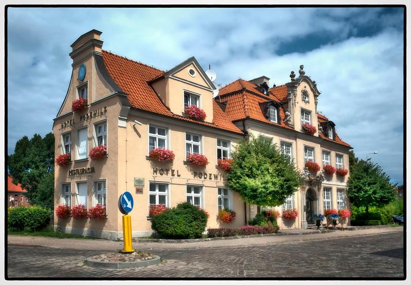 The Hotel Podewils, Gdansk, Poland.