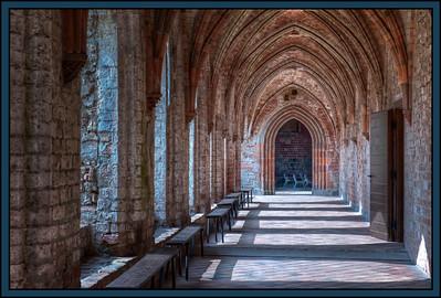 The Chorin Monastery near Eberswalde, Germany.