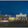 The Brandenberg Gate, Berlin, Germany.