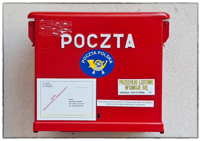 Polish mailbox.