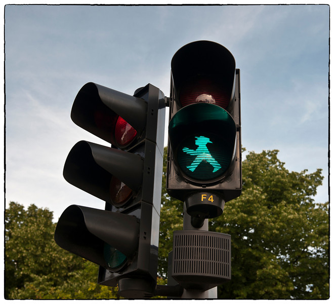 That traffic guy with the hat, Germany.