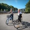 Cyclists, Turku, Finland.