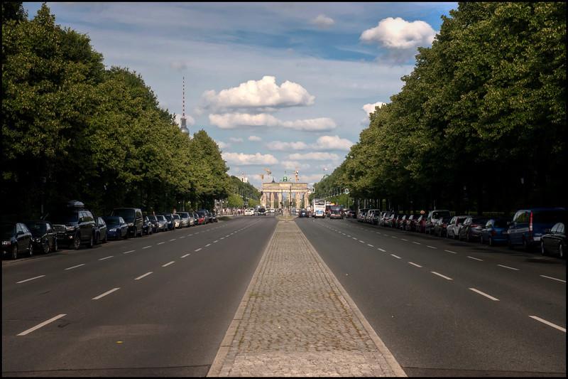 Along the Tiergarten, Berlin, Germany.