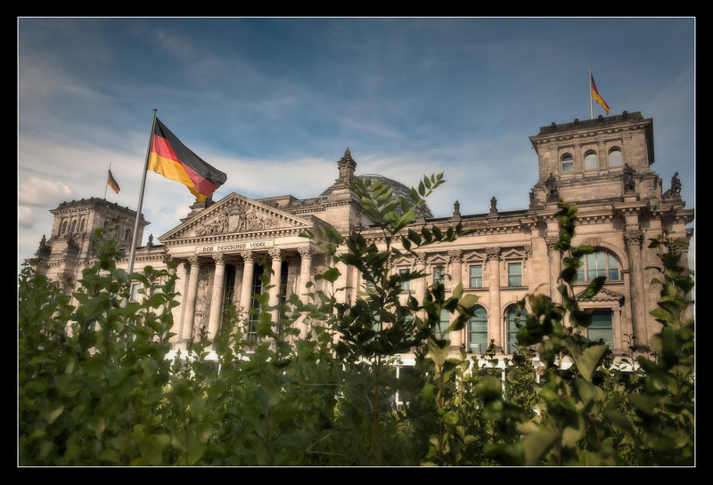 The Bundestag, Berlin, Germany.