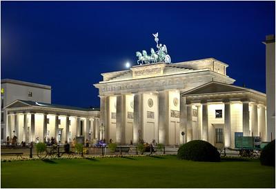 Brandenberg Gate #2, Berlin, Germany.