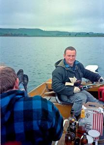 1987 62 Eric and Gerry fishing Ruawhakaiatu a