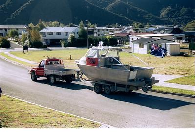1994 04 244  Gerry + Rose's wedding boat