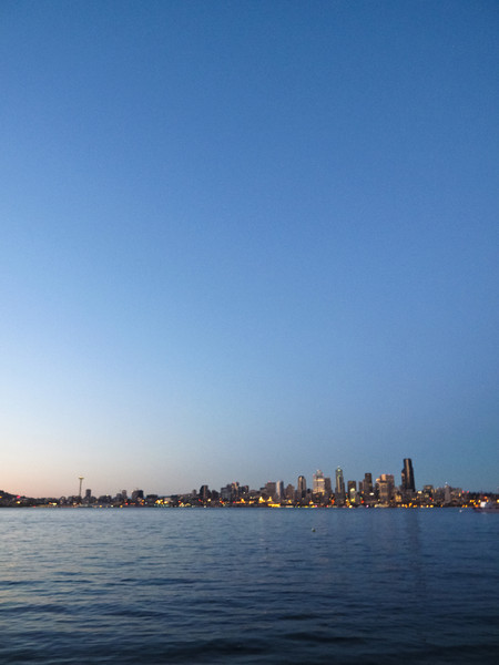 View from alki beach