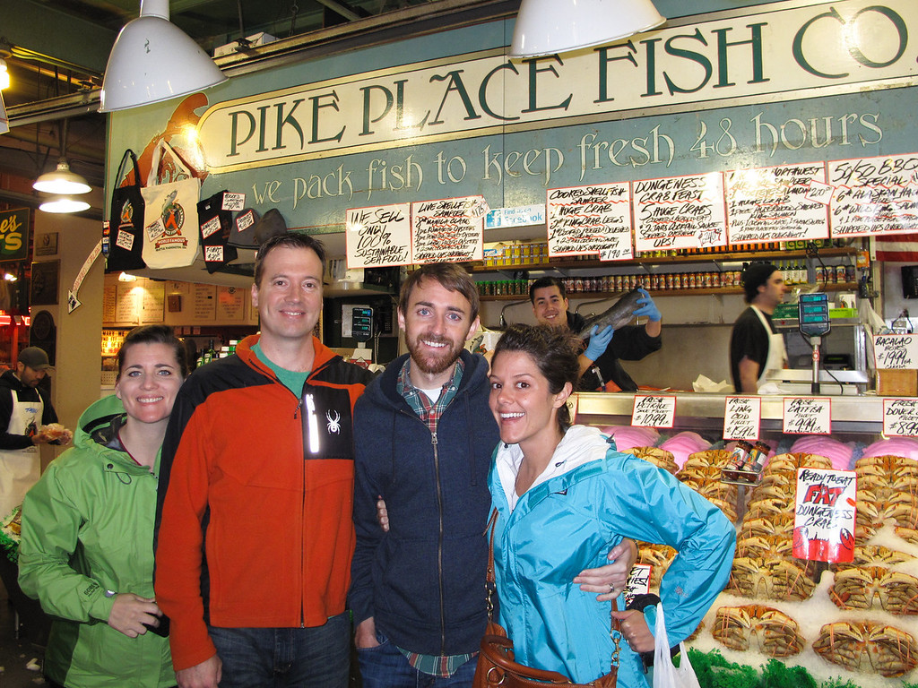 Fish at pike place