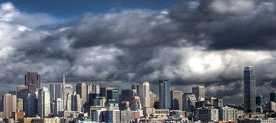 Stormy San Francisco Skyline