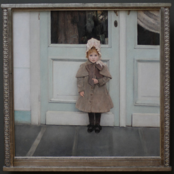 "Portrait of Jeanne Kefer, Fernand Khnopff. <br /> <br /> <a href=""http://www.getty.edu/art/gettyguide/artObjectDetails?artobj=112007"">http://www.getty.edu/art/gettyguide/artObjectDetails?artobj=112007</a>"