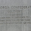 Memorial for the Georgia Cofederate Soldiers.