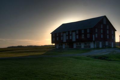 Near Gettysburg at Sunset
