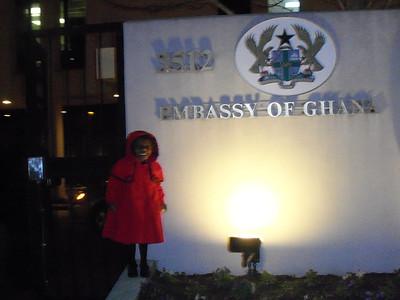 Ghana Embassy, Washington, DC