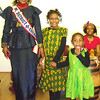 "Tenia & Lauryn with Emma Ward with ""Ms District of Columbia"" the senior reining queen for 2011-2012."