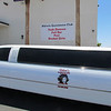 Bikini's Limo and sign.  Look at the sign.  Does someone need spelling lessons?
