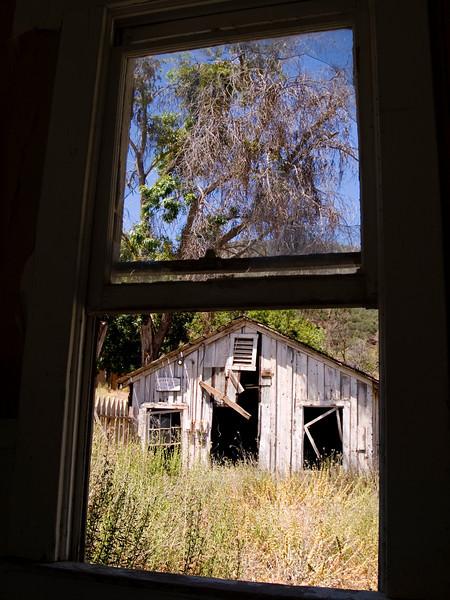 Ghost town of New Idria California