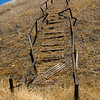 Steps in the Ghost Town of New Idria California
