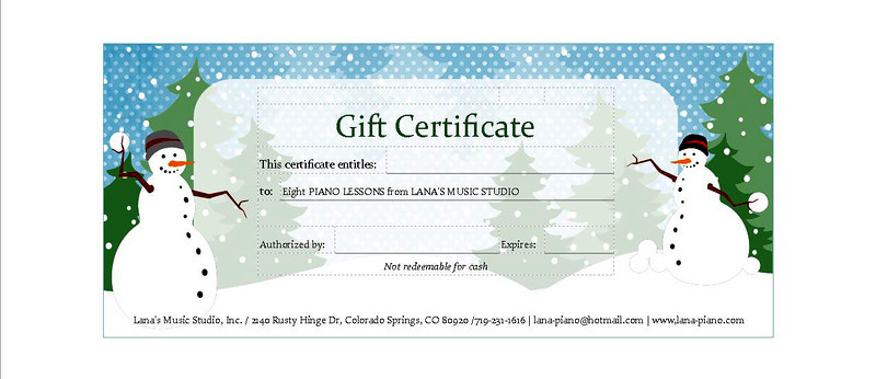 "Eight Piano Lessons for Christmas $200.00   <form action=""https://www.paypal.com/cgi-bin/webscr"" method=""post"" target=""_top""> <input type=""hidden"" name=""cmd"" value=""_s-xclick""> <input type=""hidden"" name=""hosted_button_id"" value=""6XNVDZRRQL5GJ""> <input type=""image"" src=""https://www.paypalobjects.com/en_US/i/btn/btn_buynowCC_LG.gif"" border=""0"" name=""submit"" alt=""PayPal - The safer, easier way to pay online!""> <img alt="""" border=""0"" src=""https://www.paypalobjects.com/en_US/i/scr/pixel.gif"" width=""1"" height=""1""> </form>"