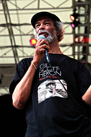 Gil scott Heron with Special Guest Common