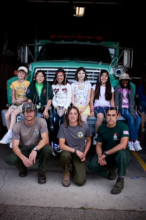 Girl Scouts SURVIVOR SERIES #2 with Los Padres National Forest Staff