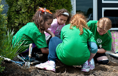How many Girl Scouts to dig a hole?