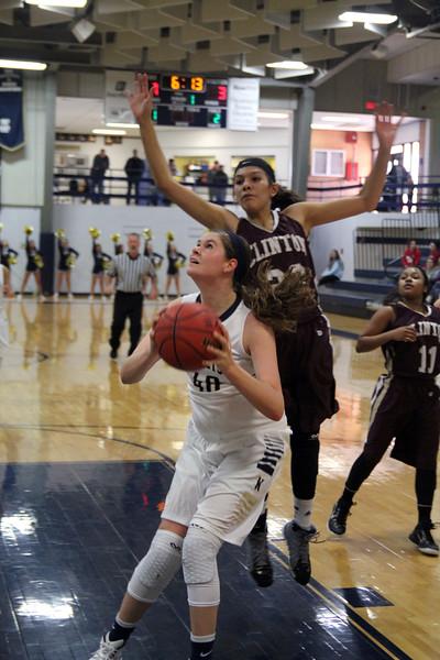 Girls Basketball V Clinton