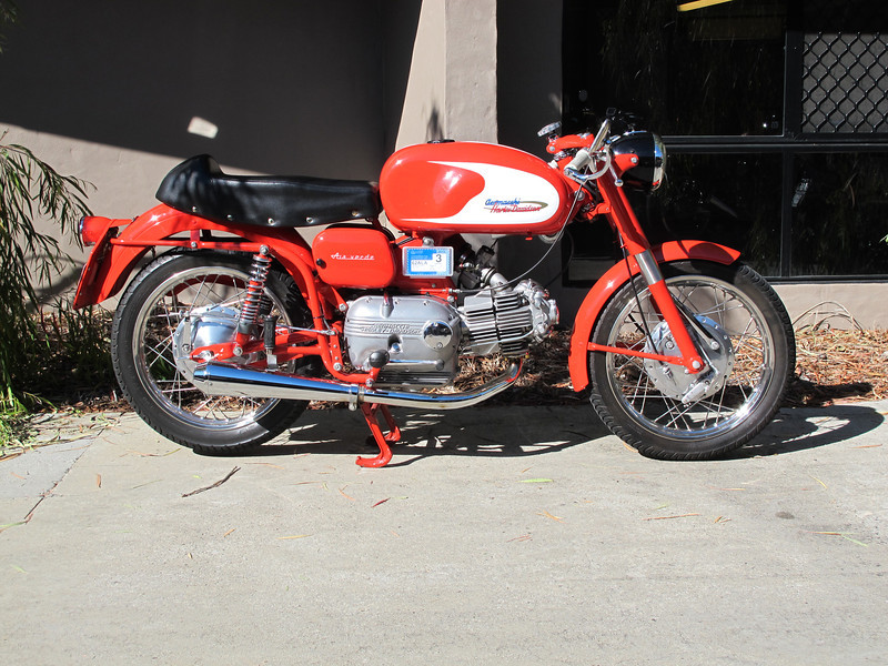 1 of several lovely Aermacchi,s on the ride.