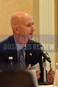 10-24-2014, Give & Take, panelists; Brian Hassett, President & CEO, United Way of the Greater Capital Region, Gary Striar, Regional CEO, American Red Cross Northeastern NY Region, Doug Sauer, Chief Executive Officer, New York Council of Nonprofits, Inc. (NYCON)