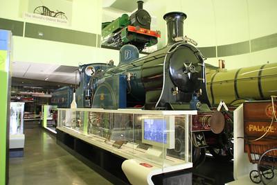 Steam Caledonian Railway No123 at Glasgow Riverside Transport Museum, Partick   03/07/12