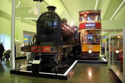 Steam North British No256 at Glasgow Riverside Transport Museum, Partick   03/07/12