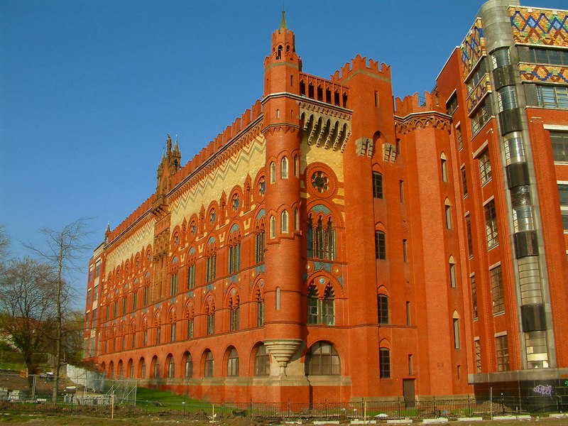 Glasgow Green - former Templeton's Carpet Loom Factory - designed by William Leiper in 1888. Based on the Doge's Palace in Venice.