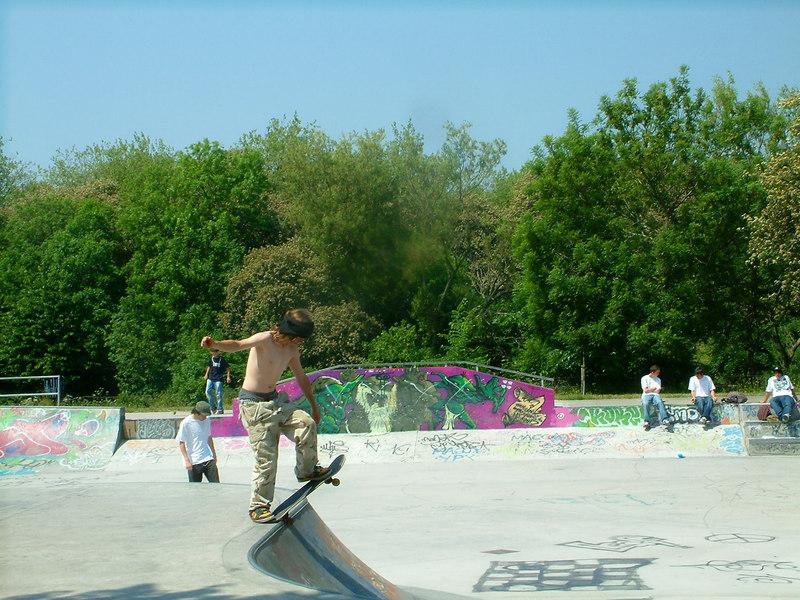 Boarders at Kelvingrove Park