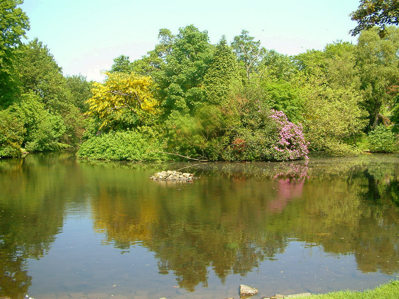 The pond, Kelvingrove Park