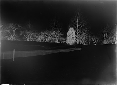 "Glass Plate Negative envelope marked ""Big Drift in Yard"" Feb 11, 1895"